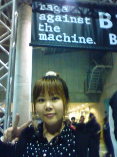 RAGE AGAINST THE MACHINE。