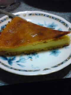 手作りケーキ。