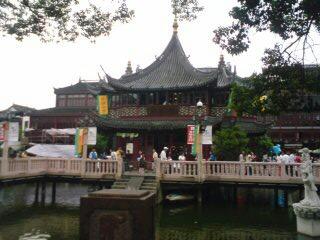 上海の風景。