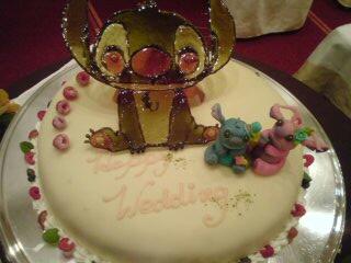 スティッチのケーキ♪
