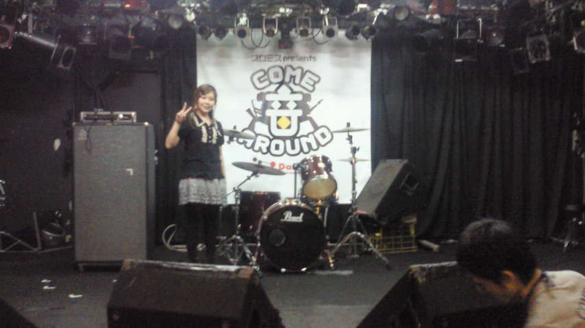 COME 音 AROUND<br />  イベント。