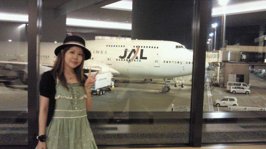 成田空港です。