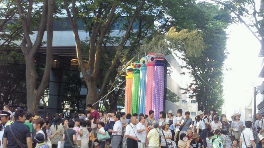 六魂祭の写真。